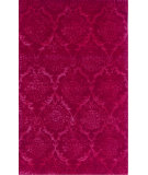 RugStudio presents The Rug Market America Julia Wong Designs Damask Red Red Hand-Tufted, Good Quality Area Rug