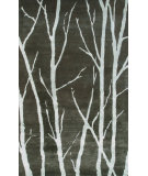 RugStudio presents The Rug Market America Julia Wong Designs Branches Brown/Blue Hand-Tufted, Good Quality Area Rug