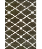 RugStudio presents The Rug Market America Julia Wong Designs Scale Brown Chocolate/Cream Hand-Tufted, Good Quality Area Rug
