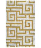 RugStudio presents The Rug Market America Ecconox Rome 72334 Khaki/cream/gold Hand-Tufted, Good Quality Area Rug