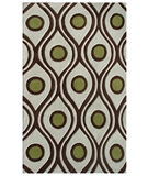 RugStudio presents The Rug Market America Ecconox Demetrius 72417 Cream/brown/olive Hand-Tufted, Good Quality Area Rug
