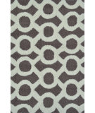 RugStudio presents The Rug Market America Pop Accents Medal Taupe/White Hand-Hooked Area Rug
