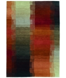 RugStudio presents Rugstudio Sample Sale 8041R Red Hand-Knotted, Best Quality Area Rug