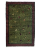 RugStudio presents Tibet Rug Company 60 Knot Premium Tibetan Sol Moss Hand-Knotted, Best Quality Area Rug