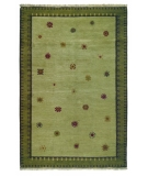 RugStudio presents Rugstudio Sample Sale 8053R Sage Hand-Knotted, Best Quality Area Rug