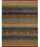 RugStudio presents Tibet Rug Company 100 Knot Premium Tibetan Arabesque Gold Hand-Knotted, Best Quality Area Rug