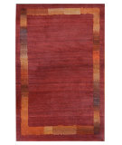 RugStudio presents Tibet Rug Company 60 Knot Premium Tibetan Border Red Area Rug