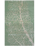 RugStudio presents Tibet Rug Company 80 Knot Premium Tibetan Sea Fan Sage Area Rug