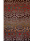 RugStudio presents Tibet Rug Company 100 Knot Premium Tibetan Wrought Iron Walnut - Red Area Rug