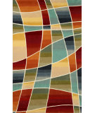 RugStudio presents Trans-Ocean Amalfi Collage Multi 1959/44 Hand-Tufted, Better Quality Area Rug