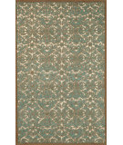 RugStudio presents Trans-Ocean Antigua Scroll Aqua 8515/04 Hand-Tufted, Best Quality Area Rug