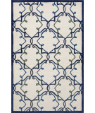 RugStudio presents Trans-Ocean Capri Delicate Scroll Ivory 1613/03 Hand-Tufted, Better Quality Area Rug