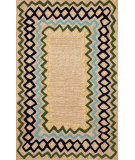 RugStudio presents Trans-Ocean Capri Ethnic Bdr Wheat 1607/04 Hand-Tufted, Better Quality Area Rug