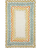 RugStudio presents Trans-Ocean Capri Ethnic Bdr Natural 1607/12 Hand-Tufted, Better Quality Area Rug