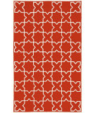 RugStudio presents Trans-Ocean Capri Morroccan Tile Red 1606/24 Hand-Tufted, Better Quality Area Rug