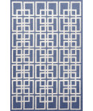 RugStudio presents Trans-Ocean Capri Oriental Square Denim 1609/33 Hand-Tufted, Better Quality Area Rug