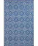 RugStudio presents Trans-Ocean Carlton Diamond Denim 1301/33 Hand-Tufted, Better Quality Area Rug