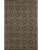 RugStudio presents Trans-Ocean Carlton Diamond Charcoal 1301/47 Hand-Tufted, Better Quality Area Rug