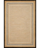 RugStudio presents Trans-Ocean Carlton Stripe Border Natural 1303/12 Hand-Tufted, Better Quality Area Rug