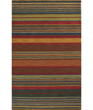 RugStudio presents Trans-Ocean Inca Stripes Green 9441/44 Hand-Tufted, Best Quality Area Rug