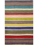 RugStudio presents Trans-Ocean Inca Stripes Red 9441/24 Hand-Tufted, Best Quality Area Rug