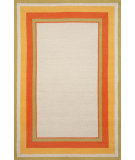 RugStudio presents Trans-Ocean Newport Multi Bdr Ivory 1661/44 Hand-Tufted, Better Quality Area Rug