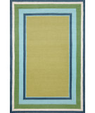 RugStudio presents Trans-Ocean Newport Multi Bdr Sage 1661/04 Hand-Tufted, Better Quality Area Rug