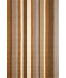 RugStudio presents Trans-Ocean Newport Uptown Stripe Brown 1660/22 Hand-Tufted, Good Quality Area Rug