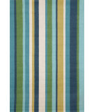 RugStudio presents Trans-Ocean Newport Verticle Stripe Blue 1660/04 Hand-Tufted, Good Quality Area Rug