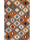 RugStudio presents Trans-Ocean Oslo Ogee Multi 2020/44 Hand-Tufted, Better Quality Area Rug