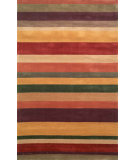 RugStudio presents Trans-Ocean Oslo Stripes Rust 2010/24 Hand-Tufted, Better Quality Area Rug