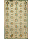 RugStudio presents Trans-Ocean Palermo Arabesque Blue 7625/03 Hand-Knotted, Better Quality Area Rug