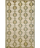 RugStudio presents Trans-Ocean Palermo Arabesque Neutral 7625/12 Hand-Knotted, Better Quality Area Rug