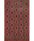 RugStudio presents Trans-Ocean Palermo Arabesque Red 7625/24 Hand-Knotted, Better Quality Area Rug