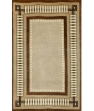 RugStudio presents Trans-Ocean Palermo Modern Border Brown 7632/19 Hand-Knotted, Better Quality Area Rug