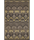 RugStudio presents Trans-Ocean Petra Ikat Grey 9072/47 Hand-Tufted, Best Quality Area Rug