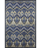 RugStudio presents Trans-Ocean Petra Ikat Denim 9072/33 Hand-Tufted, Best Quality Area Rug
