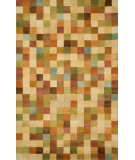 RugStudio presents Trans-Ocean Petra Squares Gold 9049/44 Hand-Tufted, Best Quality Area Rug