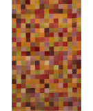 RugStudio presents Trans-Ocean Petra Squares Red 9049/18 Hand-Tufted, Best Quality Area Rug