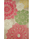 RugStudio presents Trans-Ocean Ravella Crochet Natural 1971/44 Hand-Hooked Area Rug