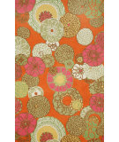 RugStudio presents Trans-Ocean Ravella Disco Orange 2064/97 Hand-Hooked Area Rug