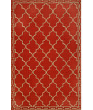RugStudio presents Trans-Ocean Ravella Floor Tile Red 1976/24 Hand-Hooked Area Rug