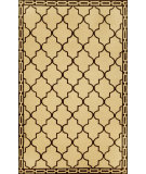 RugStudio presents Trans-Ocean Ravella Floor Tile Wheat 1976/19 Hand-Hooked Area Rug