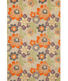 RugStudio presents Trans-Ocean Ravella Floral Neutral 2180/49 Hand-Hooked Area Rug