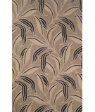 RugStudio presents Trans-Ocean Ravella Leaf Neutral 1902/20 Hand-Hooked Area Rug