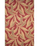 RugStudio presents Rugstudio Sample Sale 102321R Red 1902/24 Hand-Hooked Area Rug