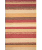 RugStudio presents Trans-Ocean Ravella Stripe Red 1900/24 Hand-Hooked Area Rug