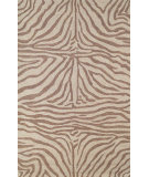 RugStudio presents Trans-Ocean Ravella Zebra Brown 2033/19 Hand-Hooked Area Rug