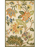 RugStudio presents Trans-Ocean Seville Floral Neutral 9679/12 Hand-Tufted, Best Quality Area Rug