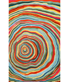RugStudio presents Trans-Ocean Seville Lg Spiral Red 9677/44 Hand-Tufted, Best Quality Area Rug